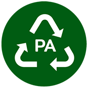 ผลิตจากพลาสติก PA